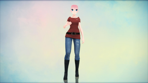 {MMD} Casual Outfit {DL} by HarukaSakurai