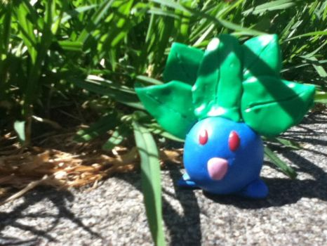 A wild Oddish appeared by PharaohBec
