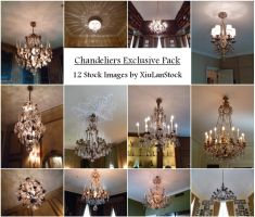 Chandeliers Exclusive Pack by XiuLanStock