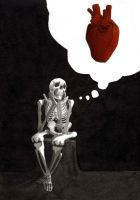 Skeleton in Love by olivier2046
