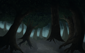 Forest by ellesanity