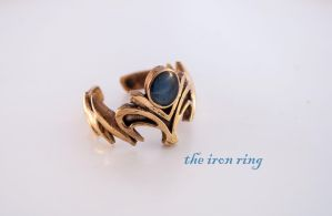 Zelda Inspired Ring by TheIronRing