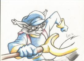 sly cooper by elianacaro