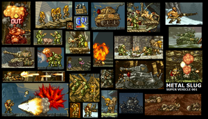 Metal Slug tribute by ChopnScrew