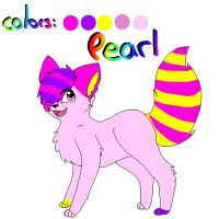 Pearl's New Ref - by Leo xD by PearlTheKitty2012
