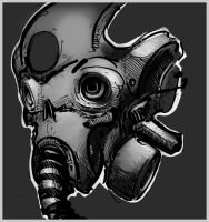 Gasmask quicky by Rafta