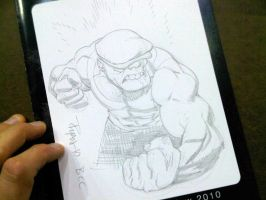 BCC 2010 GOON sketch by RyanOttley