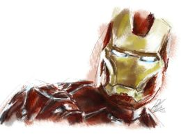 Iron Man 1 by NineteenPSG