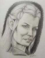 Tauriel by Godisinvincible
