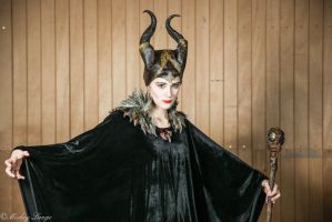 Maleficent cosplay by ReaverSkill