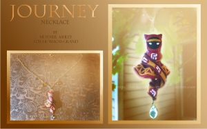 Journey Necklace by Heather Ashley by For-He-who-is-grand