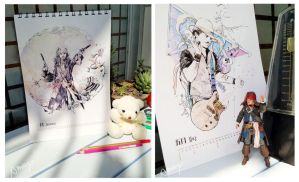 2013 JD Calendar by amoykid