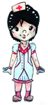 Lil' Nurse Curie by Melindrosa
