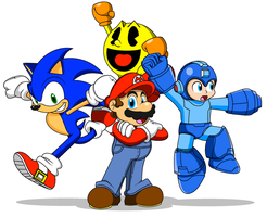 Red, Blue, and Yellow by Koopa-Master