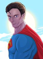 SUPERMAN by ArkadeBurt