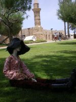 Mouse in Caesarea 12 by raewhitewolf