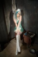 Miss Psycho Nurse I by SaphirNoir