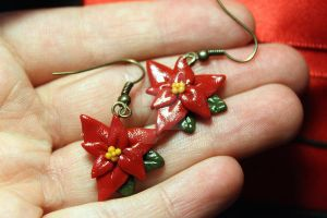 Christmas earrings by Guvy