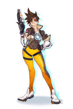 Tracer One Gun by OptionalTypo