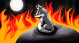Ashes The Fox Requested by FireStar810 by Yiya-styles