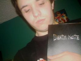 Caza with Death Note 1 by Cazamanga