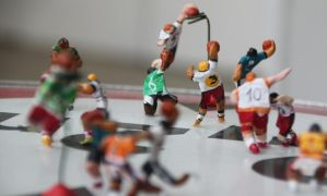 Basketball Players In Action by smolensk65