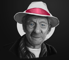 Sir Ian McKellen :) by Iceey23