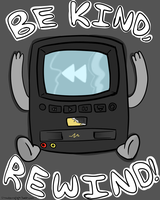 Be Kind Rewind by shinylugiacat