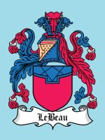 Super Clan Coat of Arms: LeBeau by mattcantdraw