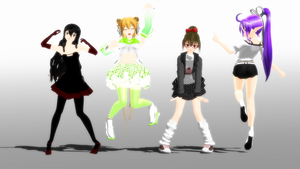 Poses pack DL by Galatea-san