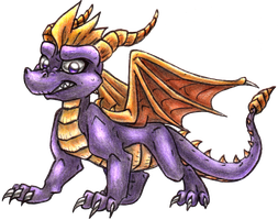 Spyro by PurpleScorpion187