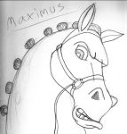 Maximus Sketch by soupertrooper