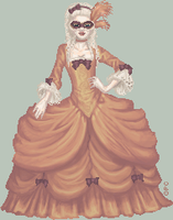 .:Masquerade:. by FionaCreates