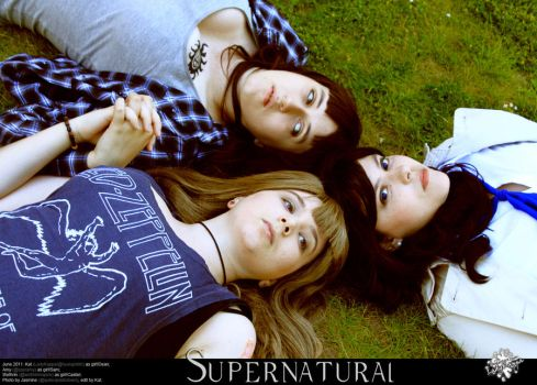 SPN - from kansas to serenity by LadyKappa