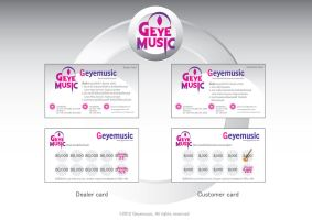 Geyemusic point card v.1 by Chichanan