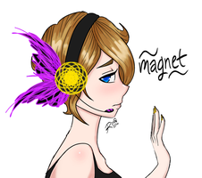 Yay I finished the Magnet thingy by RoxieTheDerp