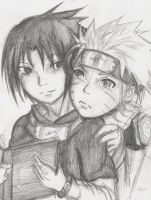What you lookin at teme? by SasuNaru-FanClub