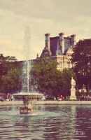 La Fountaine des Tuileries by DaggerY