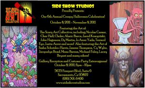 SideShow FLYeR by abstractjet