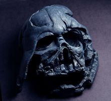 Melted Vader by Jengabean