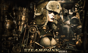_SteamPunk girl_ by gabber1991md