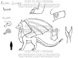 Guard Concept  -Sketch by Mike-Dragon