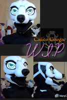 Commission WIP by CalicoCougar