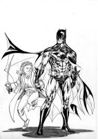 Batman and the Little Prince by SpiderGuile