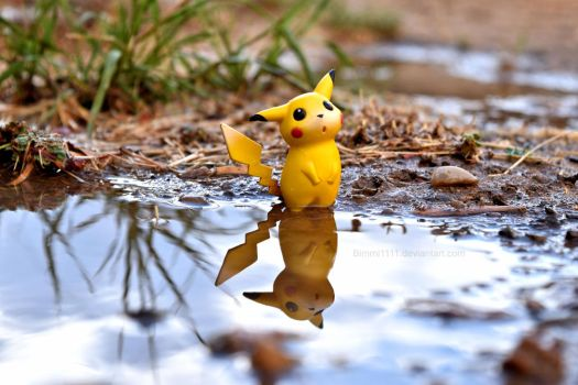 Pikachus Rainy Day II by Bimmi1111
