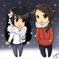 First Winter by IceValaxy