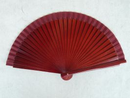 red fan stock by Mihraystock