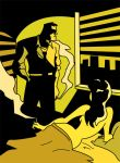 Yellow Noir by hugbees