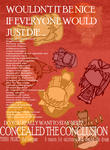 EndOfEvangelion X ConcealedTheConclusion poster by overlibertyshead
