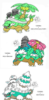 Torterra's Alola forms/Crossbreed